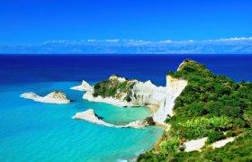 Karštos Graikiškos atostogos Korfu saloje